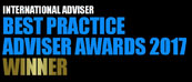 International Advisor, Best Practise Advisor Awards 2017
