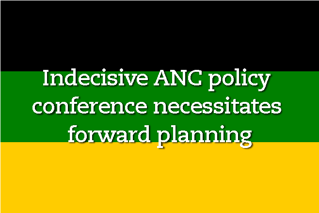 ANC policy conference, Carrick
