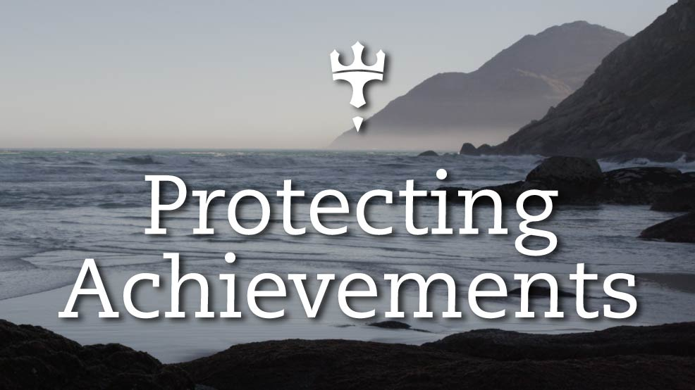 Protecting-Achievements
