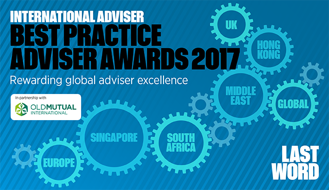 International Adviser Best Practice Adviser Awards