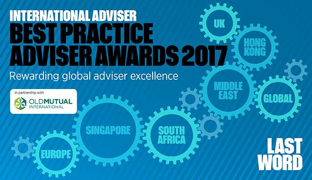 International Adviser Best Practice Adviser Awards